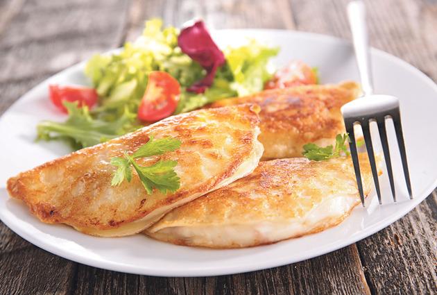 Палачинки со пилешко