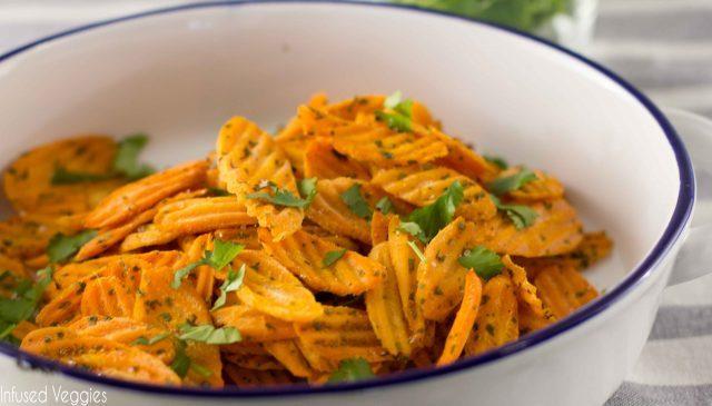 Изненадување за вашите најмили   чипс од моркови
