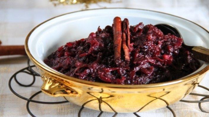Рецепт за тазе домаќинки   црвена зелка